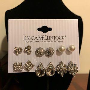 7f8cd22599 Jessica McClintock Multi-pack Stud Earrings